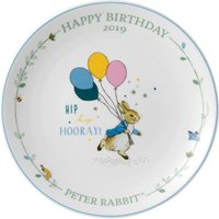 Wedgwood Peter Rabbit Annual Birthday Plate 2019