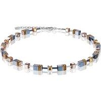 Coeur De Lion Geo Cube Topaz Necklace | 4015/10-0226 - Fashion Gifts