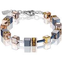 Coeur De Lion Geo Cube Topaz Bracelet | 4015/30-0226 - Fashion Gifts