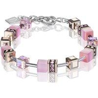 Coeur De Lion Geo Cube Light Rose Bracelet | 4016/30-1920 - Fashion Gifts