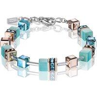 Coeur De Lion Geo Cube Aqua Bracelet | 4016/30-2000 - Fashion Gifts