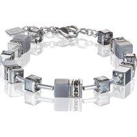 Coeur De Lion Geo Cube Light Grey Bracelet   4017/30-1220