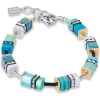 Coeur De Lion Geo Cube Turquoise & Green Bracelet - Turquoise Gifts