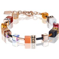 Coeur de Lion Geo Cube Red & Orange Bracelet | 4905/30-0302 - Fashion Gifts