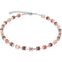 Coeur De Lion Geo Cube Orange Necklace | 4928/10-0200 - Fashion Gifts