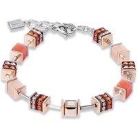 Coeur De Lion Geo Cube Orange Bracelet | 4928/30-0200 - Fashion Gifts