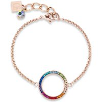 Coeur De Lion Multicolour Bracelet, Rose Gold Plated - Fashion Gifts