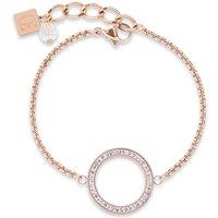 Coeur De Lion Rose Gold Pave Bracelet | 4957/30-1800 - Fashion Gifts