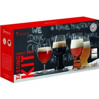 Spiegelau Craft Beer Glasses Tasting Kit (4 Different Glasses in Pack) | 4991697 - Different Gifts