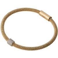 Links Of London Star Dust Gold & Cubic Zirconia Bead Bracelet   5010.2496