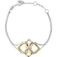 Links of London Infinite Love Vermeil Bracelet, Sterling Silver & 18kt Yellow Gold - Links Of London Gifts