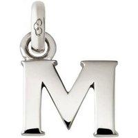 Links of London Alphabet Keepsakes Sterling Silver M Charm   5030.1106 - Keepsakes Gifts