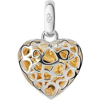 Links of London Love & Luck Keepsakes Cage Heart Bi-Metal Charm   5030.2297 - Keepsakes Gifts