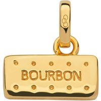 Links Of London British Tea Keepsakes Bourbon Biscuit Charm, 18kt Gold Vermeil