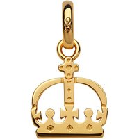 Links Of London Ascot Keepsakes Crown Charm, 18kt Yellow Gold Plated