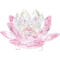 Swarovski Waterlily Rosaline Candleholder | 5066010 - Decorations Gifts