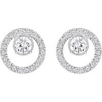 Swarovski Creativity Circle Small Silver Earrings | 5201707 - Creativity Gifts