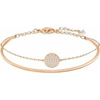 Swarovski Ginger Rose Gold Bangle, Medium | 5274892