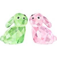 Swarovski Lovlots Bunny Rabbits In Love George & Georgina   5279056 - Rabbits Gifts