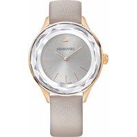 Swarovski Octea Nova Watch, Grey, Rose Gold Plated - David Shuttle Gifts