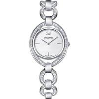 Swarovski Stella White & Silver Tone Watch   5376815 - Stella Gifts