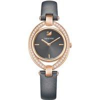 Swarovski Stella Black & Rose Gold Watch   5376842 - Stella Gifts