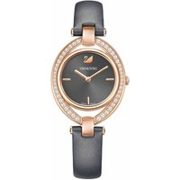 Swarovski Stella Watch, Dark Grey, Rose Gold Plated - Stella Gifts