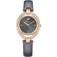 Swarovski Stella Watch, Dark Grey, Rose Gold Plated - Stella Gifts