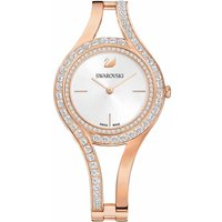Swarovski Eternal Watch, White, Rose Gold Plated - David Shuttle Gifts