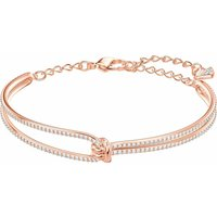 Swarovski Lifelong Rose Gold Bangle, Medium | 5390818
