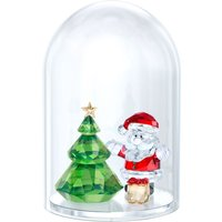 Swarovski Christmas Tree & Santa Bell Jar | 5403170 - Decorations Gifts