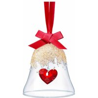 Swarovski Christmas Bell Heart Ornament - Christmas Gifts