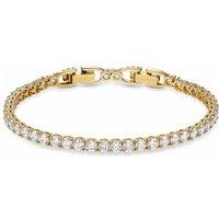 Swarovski Tennis Deluxe Bracelet, Gold Plated - David Shuttle Gifts