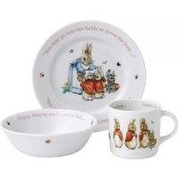 Wedgwood Peter Rabbit Girl's 3 Piece Set   58988200265 - Peter Rabbit Gifts