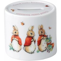 Wedgwood Peter Rabbit Girl's Money Box   58988200266 - Peter Rabbit Gifts