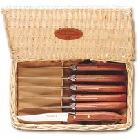 Claude Dozorme Grill Steak Exotic Wood Knives, Set of 6 | 7.40.001.51 - Wood Gifts