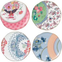 Wedgwood Butterfly Bloom 20cm Plates (Set of 4) - Butterfly Gifts
