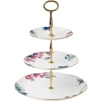 Wedgwood Butterfly Bloom 3 Tier Cake Stand - Butterfly Gifts