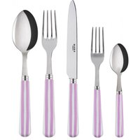 Sabre Transat Pink 5 Piece Cutlery Set - Cutlery Set Gifts