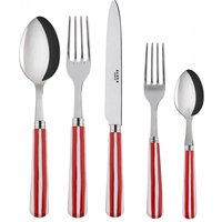 Sabre Transat Red 5 Piece Cutlery Set - Cutlery Set Gifts