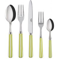 Sabre Transat Spring Green 5 Piece Cutlery Set - Cutlery Set Gifts