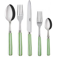 Sabre Transat Garden Green 5 Piece Cutlery Set - Cutlery Set Gifts