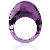 Lalique Cabochon Purple Ring, Size 57 | 6570600