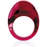 Lalique Cabochon Red Ring, Size 55 | 6551100