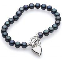 Kit Heath Desire Lustrous Heart Peacock Freshwater T-Bar Bracelet | 70KTPFP024 - Peacock Gifts