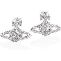 Vivienne Westwood Grace Bas Relief Stud Silver Earrings | 724674B/7 - David Shuttle Gifts