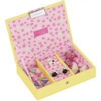 Stackers Yellow Mini Jewellery Box Lid | 73327 - Jewellery Box Gifts