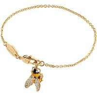 Vivienne Westwood Bumble Bee Gold Charm Bracelet | 741762B/1 - Bee Gifts