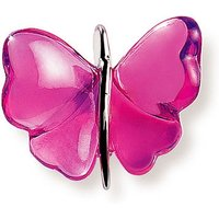 Lalique Papillon Fuchsia Pendant - Butterfly Gifts