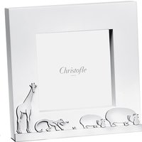 Christofle Savane Picture Frame, 9cm x 9cm | 04256985 - Picture Gifts